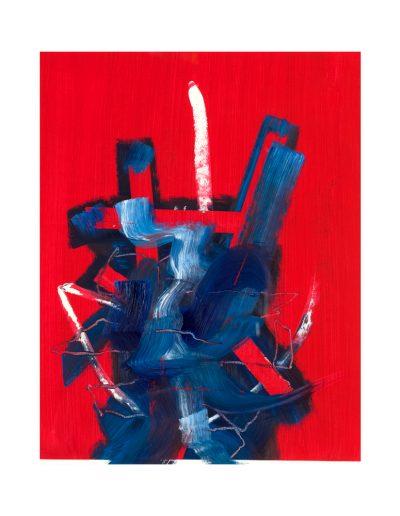 large abstract art print