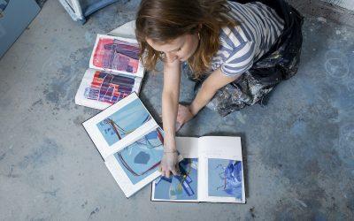 June 2021: How I began selling original abstract art online