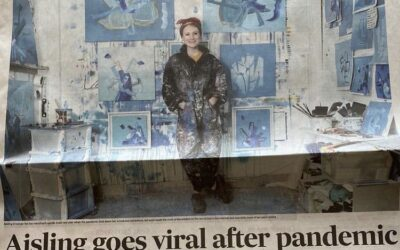 June 2021: Interview with Clare Champion Newspaper/ Up and Coming Visual Artist