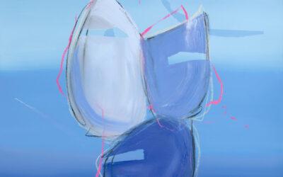 June 2021: New series of original abstract paintings!