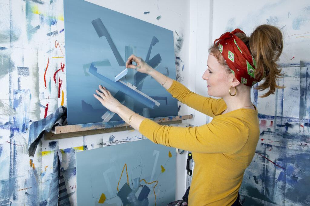 Aisling Drennan Contemporary abstract painter