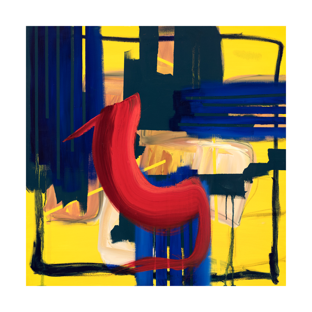 contemporary abstract art prints for sale, large abstract print by artist aisling drennan