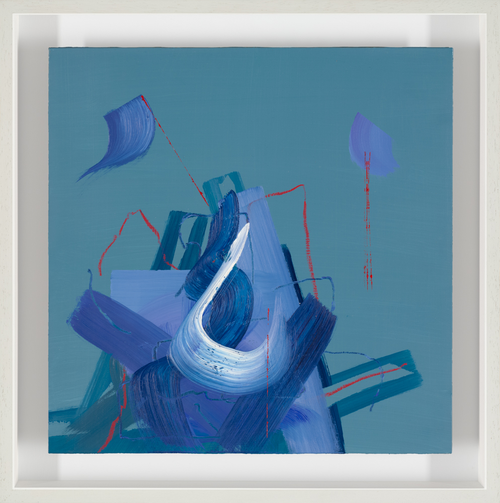 framed abstract painting by Aisling Drennan
