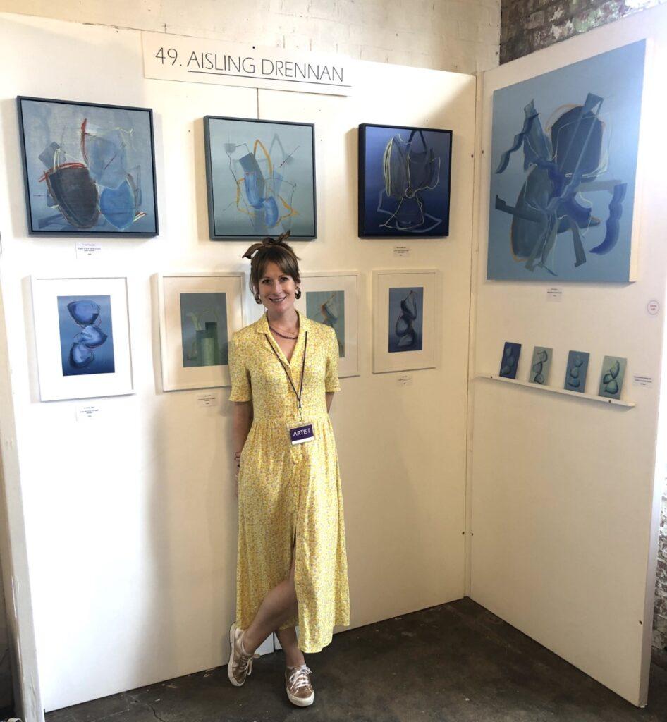 Aisling Drennan at roys art fair, London art fair 2021
