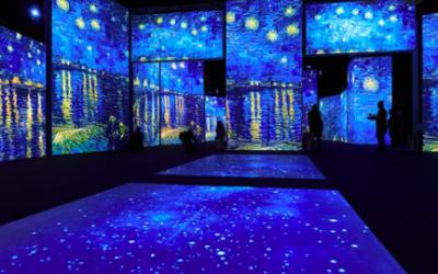 Aug 2021: Studio Update/ Van Gogh Alive London
