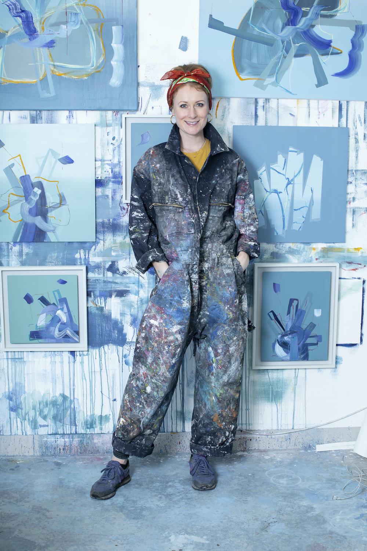 Abstract artist UK, Aisling Drennan
